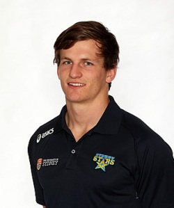 James Dargaville is striving for a Super Rugby contract. Photo from www.sydneystarsrugby.com.au