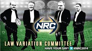 The NRC law variation commitee