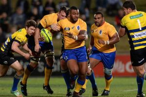 Kerevi making a break against the Sydney Stars. Photo by Getty Images: Bradley Kanaris