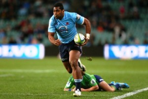 Taqele had a strong debut season with the Tahs in 2014.  Photo taken from: Supplied Report by: Indra Singh