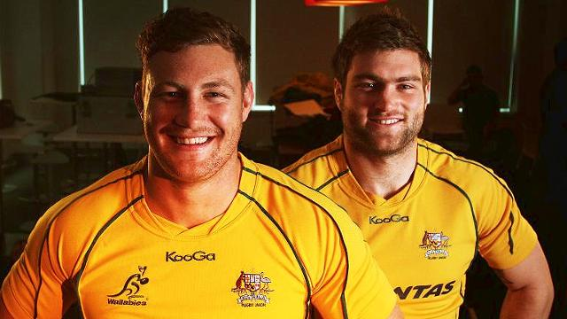 Cheika is set to decide between Higginotham and McCalman for the Wallabies' number 8 jersey. Photo sourced from: www.foxsports.com.au