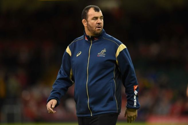 Michael Cheika is set for his first game as Wallabies' coach on home soil.  Photo sourced from: Getty Images