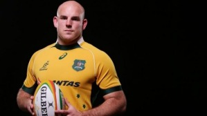 Michael Cheika has named Stephen Moore as the Wallabies' captain. Photo sourced from: www.couriermail.com.au