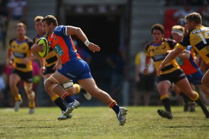 Paul Asquith has been a real force for the Rams at halfback, centre, wing or fullback.