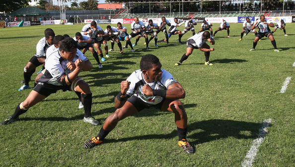 Fiji performing the Cibi at the 2015 Rugby World Cup
