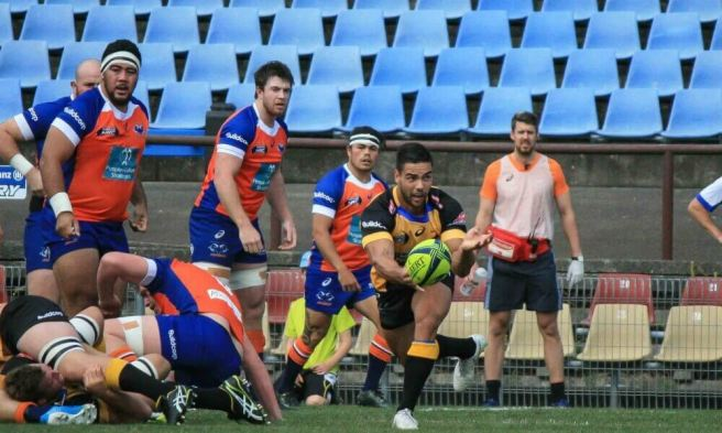 Ryan Louwrens delivered the ball well for the Perth Spirit against the Rams.  Photo sourced from www.Zimbo.com
