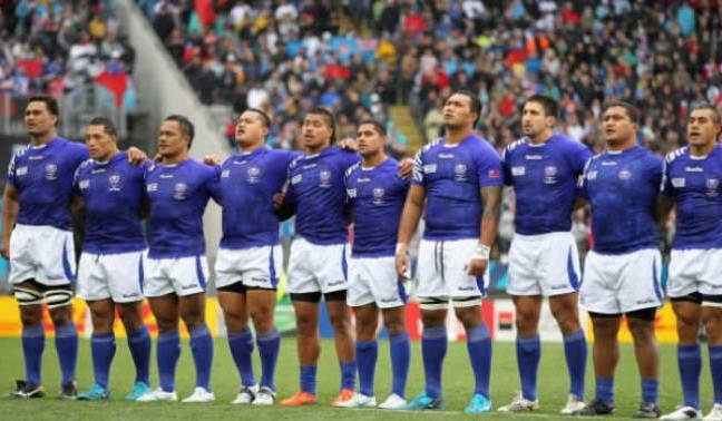 Manu Samoa at the 2015 Rugby World Cup